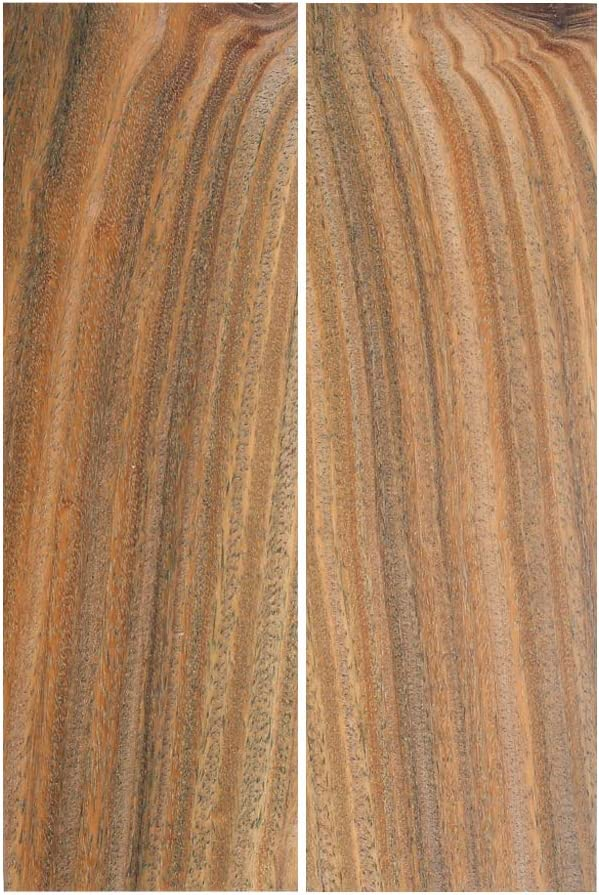 IECAP LLC Bookmatched Natural Wood Exotic Oakland Mall All stores are sold Kn Scales - Knife