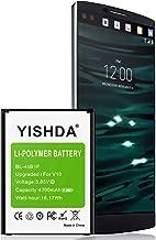 LG V10 Battery (Upgraded), YISHDA 4200mAh Li-Polymer Replacement LG BL-45B1F Battery for LG V10 VS990 (Verizon), H900 (AT&T), H901 (T-Mobile), H961N, H960A Cell Phones   LG V10 Spare Battery