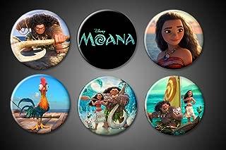Moana Magnets Disney Hawaii Moana Maui HeiHei Title Boat movie pictures 1