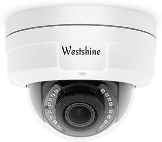 Westshine Cámara CCTV Domo de Seguridad 1080P Lente varifocal 2.8-12mm Cámara Domo a Prueba de vandalismo Cámara 4-en-1 AHD/TVI/CVI/CVBS Cámaras Domo para Interiores con visión noct