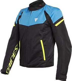 Dainese Bora Air Jacket - Black/Fire Blue/Fluo Yellow (Euro 56/US 46)