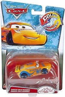 Disney Mattel GDK06 Pixar Cars 3 - Vehículo Dinoco Cruz Ramirez Cambio De Color, Coche De Juguete