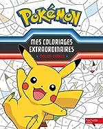 Pokémon / Mes coloriages extraordinaires - Colos codés de Hachette Jeunesse