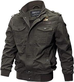 riou Hombre, Chaqueta Invierno Hombre Táctico Ropa de Moto Manga Larga Chaqueta Militar Gran tamaño Transpirable Abrigo Jacket Parka Pullover Coat Caliente riou