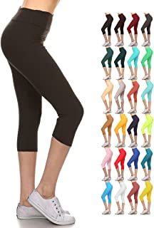 Leggings Depot Higher Waist Women's Buttery Soft Solid...