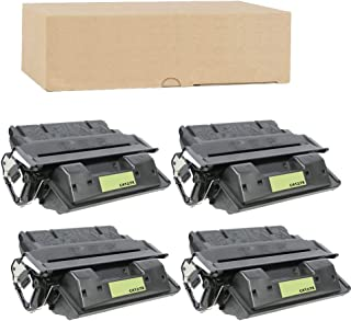 ADE Products Compatible Toner Replacements for 4 HP 27X (High Yield Black), 4 HP C4127X, for HP Laserjet 4000, 4000n, 4000se, 4000t, 4000tn, 40050, 4050 USB-mac, 4050n, 4050se, 4050t, 4050tn