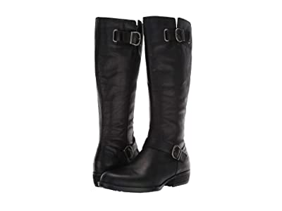 Born Turne (Black Full Grain Leather) Women