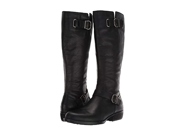 Born  Turne (Black Full Grain Leather) Womens  Boots