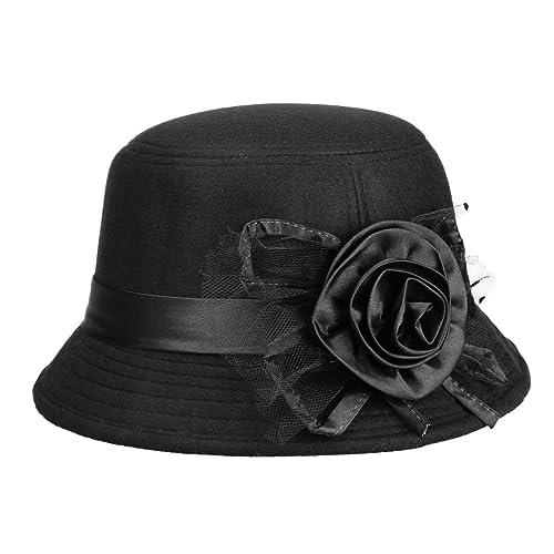 3407772b1437f IL Caldo Women s Retro Winter hat Fascinators