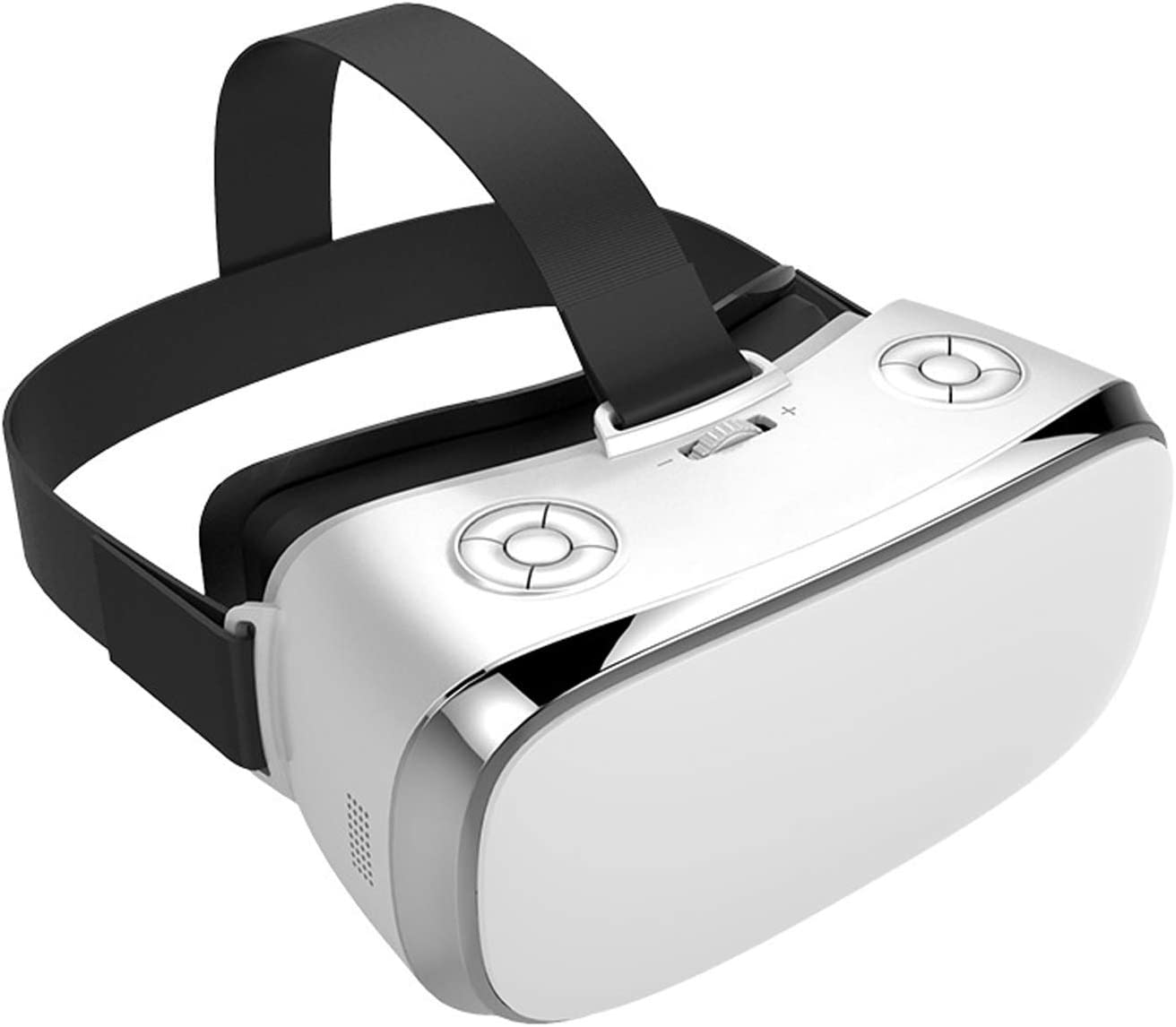 V3H All-in-One Vr Box with Gamepad Virtual Reality Headset/ Helmet Intergrated VR Box Headset with Independent Andriod Operation System DHL (White)