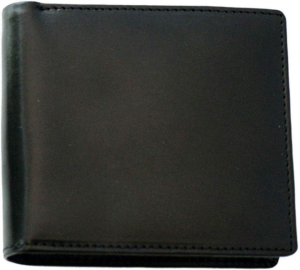 シャッター鬼ごっこ挨拶[BlissLeather] 【極上イタリアンレザー】短財布 二つ折り 本革 メンズ PRHA-2002