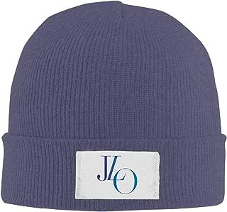 Amone Jennifer Lope Winter Knitting Wool Warm Hat Navy