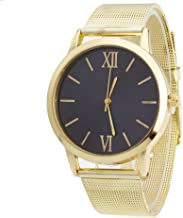 AmyDong Ladies Gold Stainless Steel Mesh Band Watch
