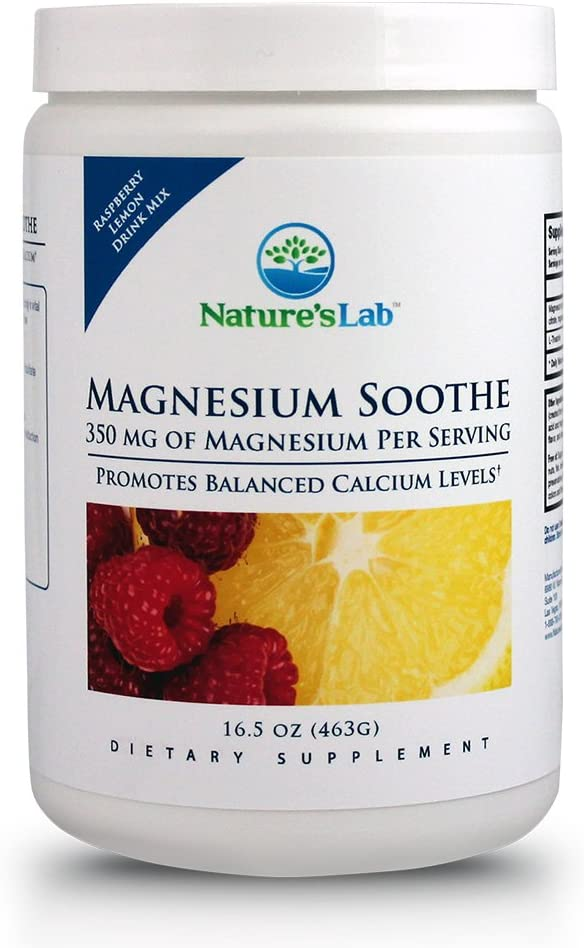Nature's Lab Magnesium Max 2021 71% OFF Soothe 350mg Balanced – Promotes Cal