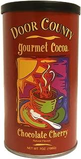 Door County Gourmet Hot Cocoa, Chocolate Cherry, 7oz Tin