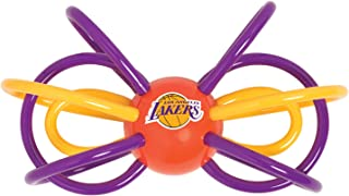 Baby Fanatic NBA Los Angeles Lakers Unisex LAL440Teether/Rattle, See Description