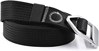 Nonwe Casual Outdoor Adjustable Waistband 1.5-Inch Belt with Aluminum Buckle