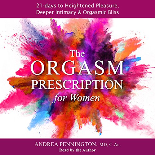 The Orgasm Prescription for Women audiobook cover art