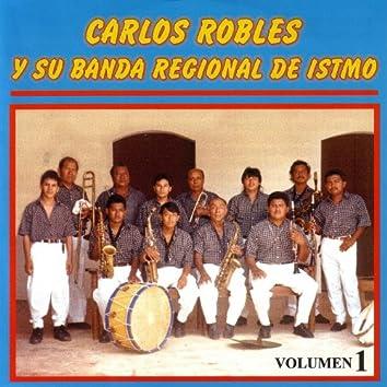 Carlos Robles Y Su Banda Regional Del Itsmo Vol. 1