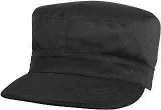 Black Fatigue Cap