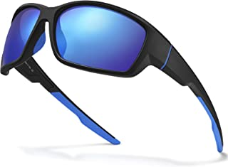 AVAWAY Polarized Sports Sunglasses, Mens Womens Cycling Glasses, Baseball Running Fishing Golf...