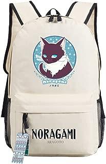 YOYOSHome Noragami Anime Yato Yaboku Cosplay Messenger Bag Backpack School Bag