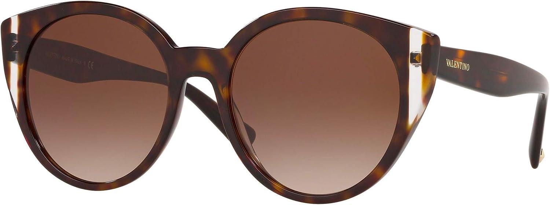 Sunglasses Import Valentino VA 4038 Havana Crystal Inexpensive 500213