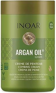 Inoar Creme para Pentear Argan Oil Hidratante 1 kg, Inoar