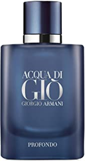 Giorgio Armani Acqua Di Gio Profondo for Men Eau De Parfum Spray 4.2 Ounces