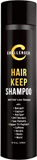 New Hair Keep Shampoo - Challenger DHT Blocking, Hair Growth Shampoo - 10OZ with Baicapil, Capixyl, HairSpa, Caffeine, Biotin, Hyaluronic Acid, Copper Tri-Peptide 1, Saw Palmetto, More