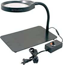 HHIP 8070-0001 8x LED Desk Top Magnifier