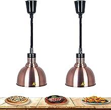 WOERD Lampe Chauffe-Plats, Portable Lampe Chauffante pour Aliments, Éclairage pour Chauffe-Plats avec 250W Ampoule, Hauteu...