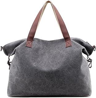 c0f821ea5b Young & Ming Grande toile Femme Sac bandoulière Handbag Cabas Sacs portés  main Sacs portés épaule