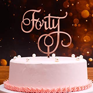 Excellent Best Birthday Cakes For 40Th Birthday Female In 2020 Reviews Guide Personalised Birthday Cards Cominlily Jamesorg