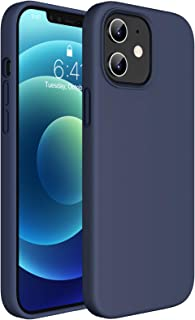 Miracase Compatible with iPhone 12 Case and iPhone 12 Pro Case 6.1 inch(2020),Liquid Silicone Gel Rubber Full Body Protect...