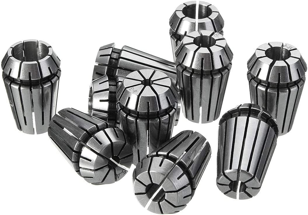 HSJWOSA free shipping Several 10pcs In a popularity ER20 4-13mm Collet Chuck Set Spring Compat