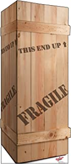 Advanced Graphics Fragile Leg Lamp Crate Life Size Cardboard Cutout Standup - A Christmas Story (1983 Film)