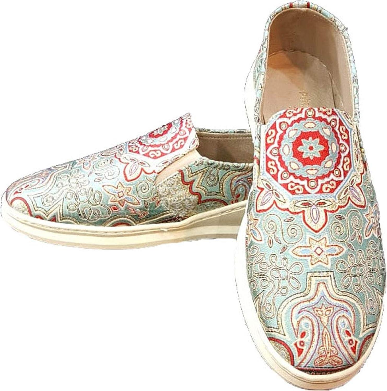 Handmade Turkish Funky Comfort shoes Red