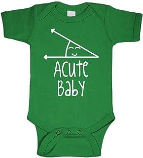 c5027943 Live Nice Acute Baby - Math Humor Angle Obtuse - Cotton Infant Bodysuit