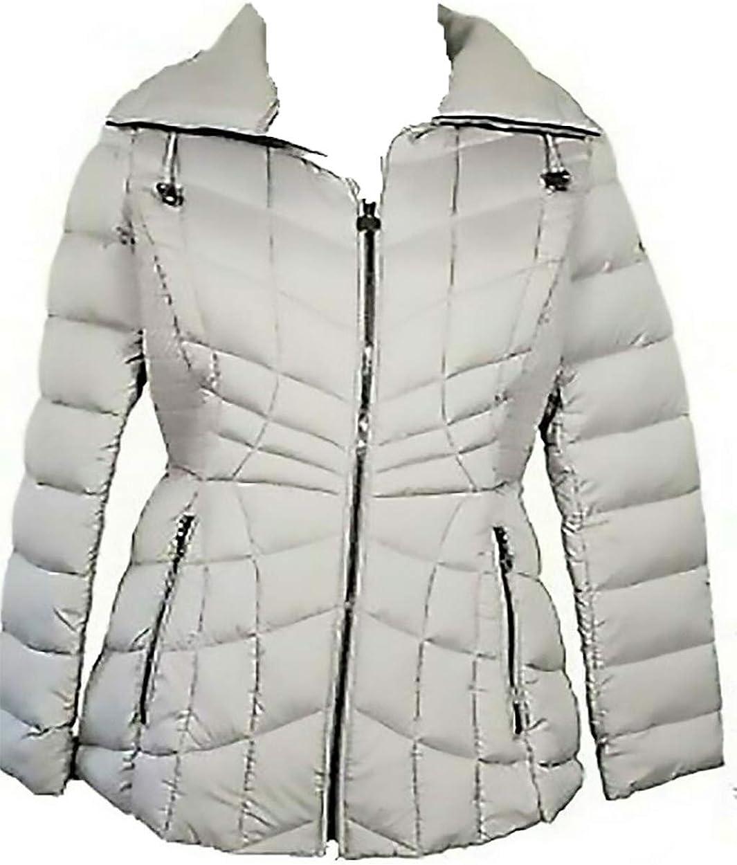 BERNARDO Max 90% OFF Women's Packable Zip Puffer Opal Quilted 1 year warranty Jacket La Grey