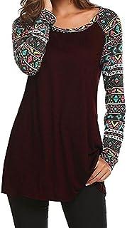 5dce1e861 Amazon.es: blusas hippies - Camisetas de manga larga / Camisetas ...