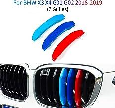 Motorsport 3//Dreifarbig Abdeckung Kappe// BMW X2 F39 8-bar Gitter,M Tech