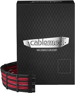 CableMod C-Series PRO ModFlex Cable Kit for Corsair RM (Yellow Label) / AXi/HXi - Black/RED [cm-PCSI-FKIT-KKR-R]