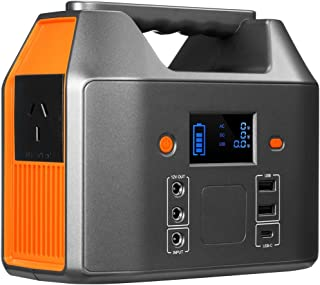 Portable Power Station Solar Generator 72800mAh 150W Battery Backup AC & DC Port for Home Outdoor Camping Travle