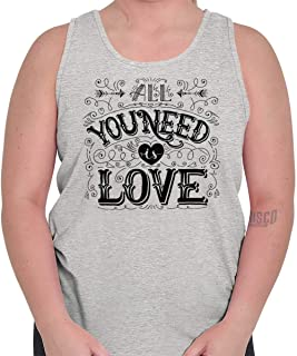 All You Need is Love Positive Music Classic Tank Top
