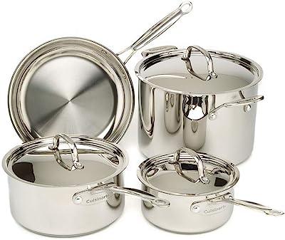 Cuisinart 7 Piece S/S Cookware Set