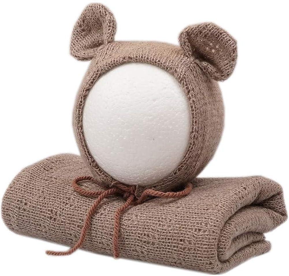 Newborn Photography Props Wrap Blanket with Hat G Daily bargain sale Boys Baby Bear Washington Mall