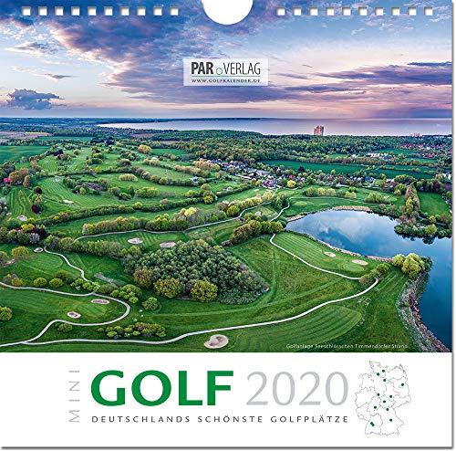 'Mini'-Golf 2020: Deutschlands schönste Golfplätze (21 x 21) (Mini-Golf Kalender Deutschlands schönste Golfplätze)
