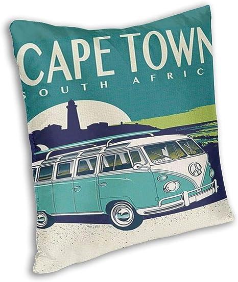 Amazon Com Cape Town South Africa Pillowslip Throw Pillow Cover Cushion Covers Cushion Custom Print Pattern Cover Cushion Cover Home Decorative Creative Cushion Pillow Cases With Zipper Home Kitchen