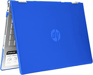 """mCover Hard Shell Case for 14"""" HP Pavilion X360 14-CDxxxx / 14-DDxxxx Series Convertible 2-in-1 laptops – HP-PX360-14CD Blue"""
